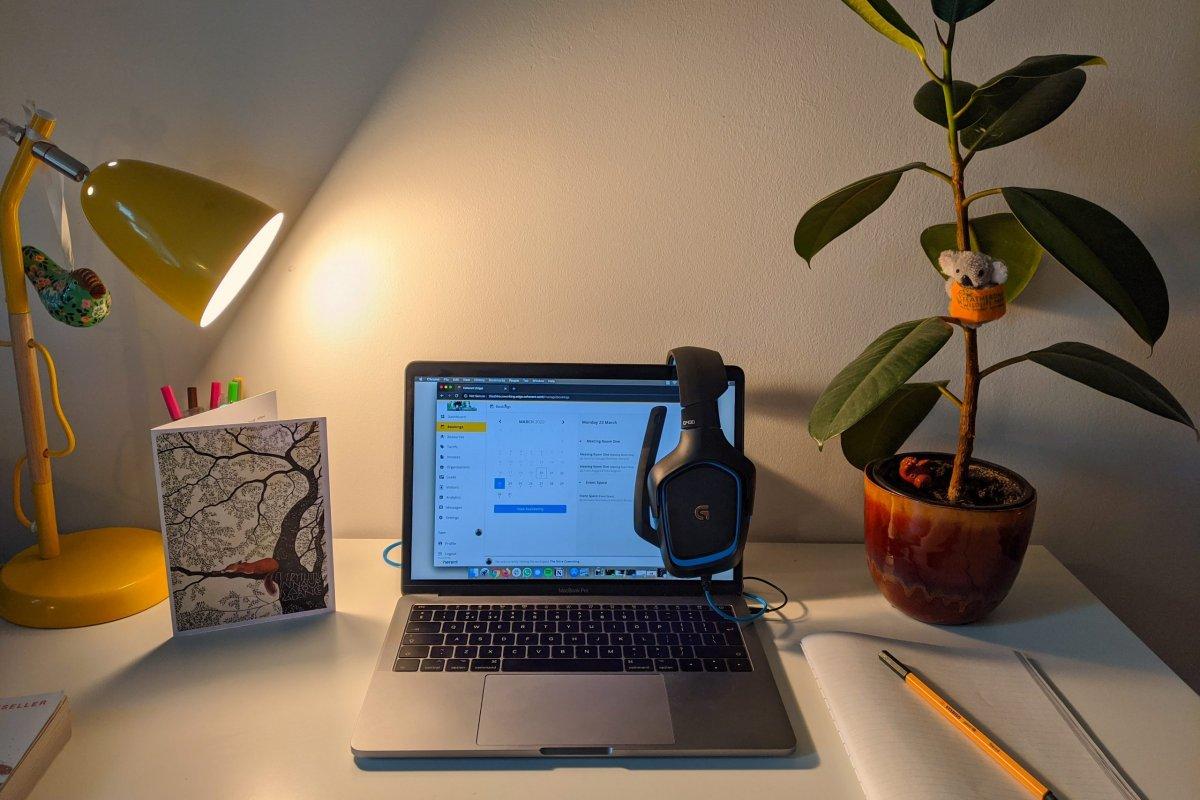 Online meetings in place